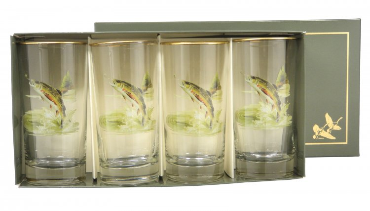 Trout, Highball, 13oz, gift boxed - Click Image to Close
