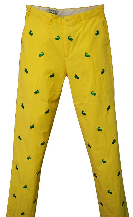 Daffodil Yellow Harbor Pant Picture