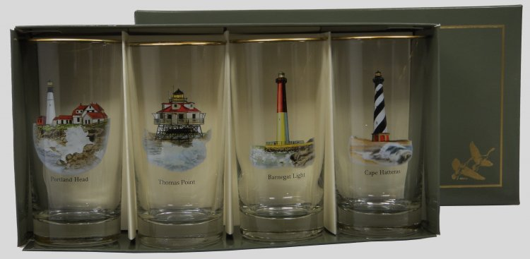 Lighthouse, Highball, 13oz, gift boxed - Click Image to Close