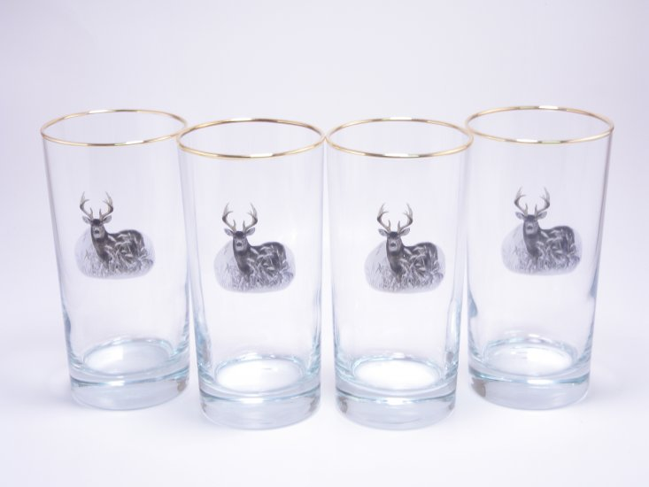 Deer, Highball, 13oz, gift boxed - Click Image to Close