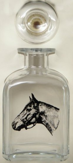 Seabiscuit, Decanter, 28oz - Click Image to Close