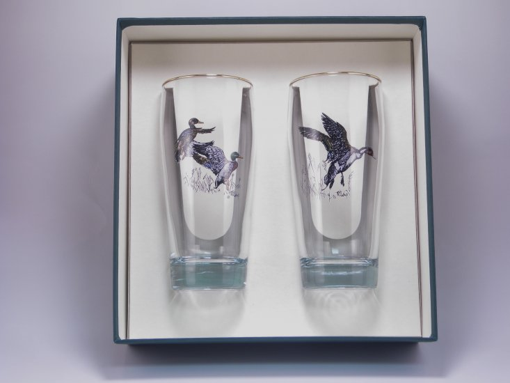 Waterfowl, Beer Glass, 20oz - Click Image to Close