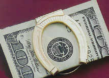 Horseshoe money clip.jpg (21209 bytes)