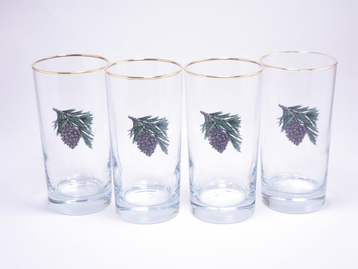 Pine Cone, Highball, 13oz, gift boxed - Click Image to Close