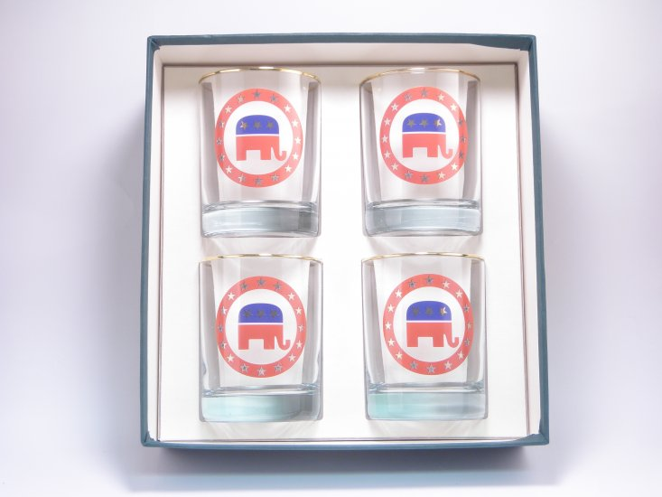 Republican, Double Old Fashioned, gift boxed - Click Image to Close