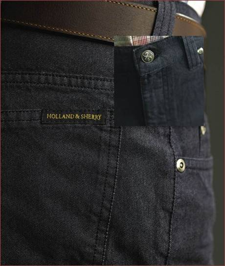 Description: Holland and Sherry Denim Jeans by Corbin