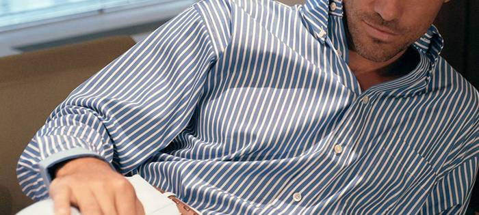 Since 1948 Gitman's skilled artisans have consistently created one of the world's finest shirts. Located in Ashland, Pennsylvania, Gitman is also one of the last remaining Shirtmakers to base its manufacturing solely in America.