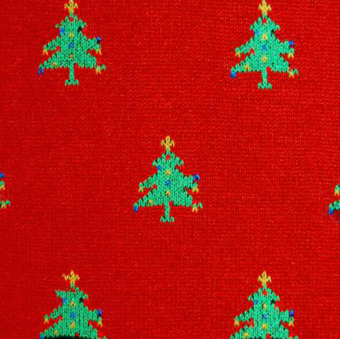 red christmas socks