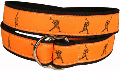 Fast Break (orange) D-Ring Belt