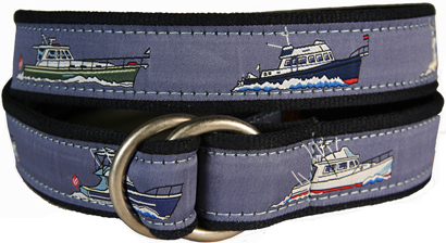 Powerboats D-Ring Belt