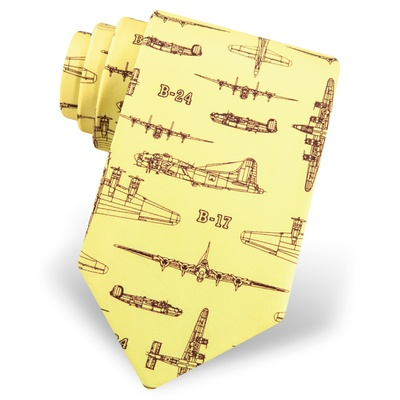 Flying Fortress Tie by Alynn Novelty