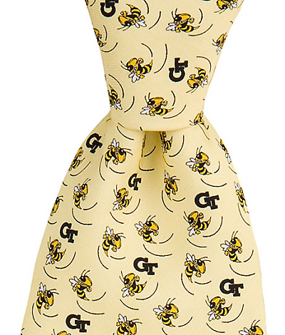 Georgia Tech Yellow Jackets Tie