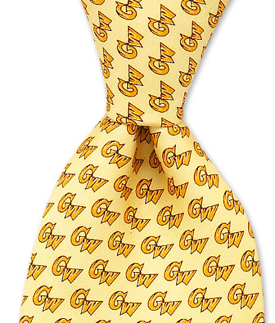 George Washington University Tie