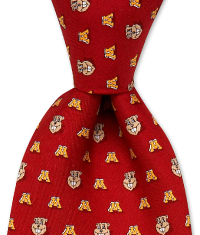 University of Minnesota Gopher Tie