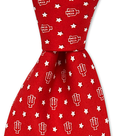 University of Indiana Stars Tie