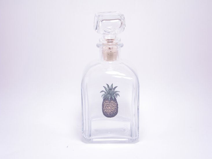 Pineapple, Decanter, 28oz - Click Image to Close