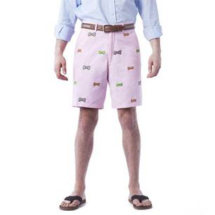 CISCO SHORT PINK WITH BOWTIES