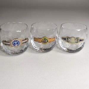 Cigar Label Bar Glass Snifter Set Of Three Caramelos Alfonso Regalia  Preferencia | eBay