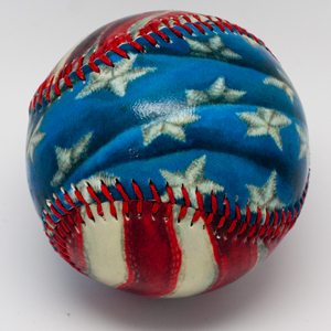 The Stars and Stripes Baseball