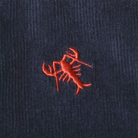 Beachcomber Corduroy Pant Nantucket Navy with Lobster